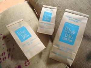 blue bag mexican coffee